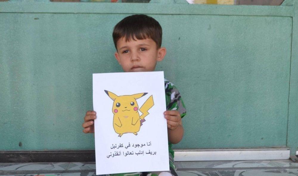 Siria, appello dei bimbi: