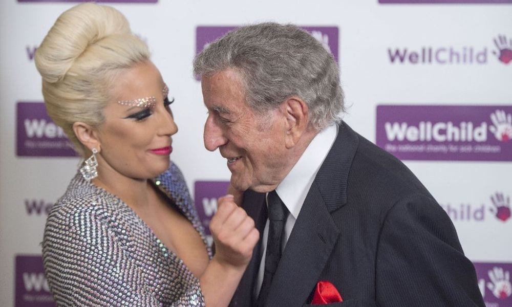 Lady Gaga festeggia i 90 anni di Tony Bennet