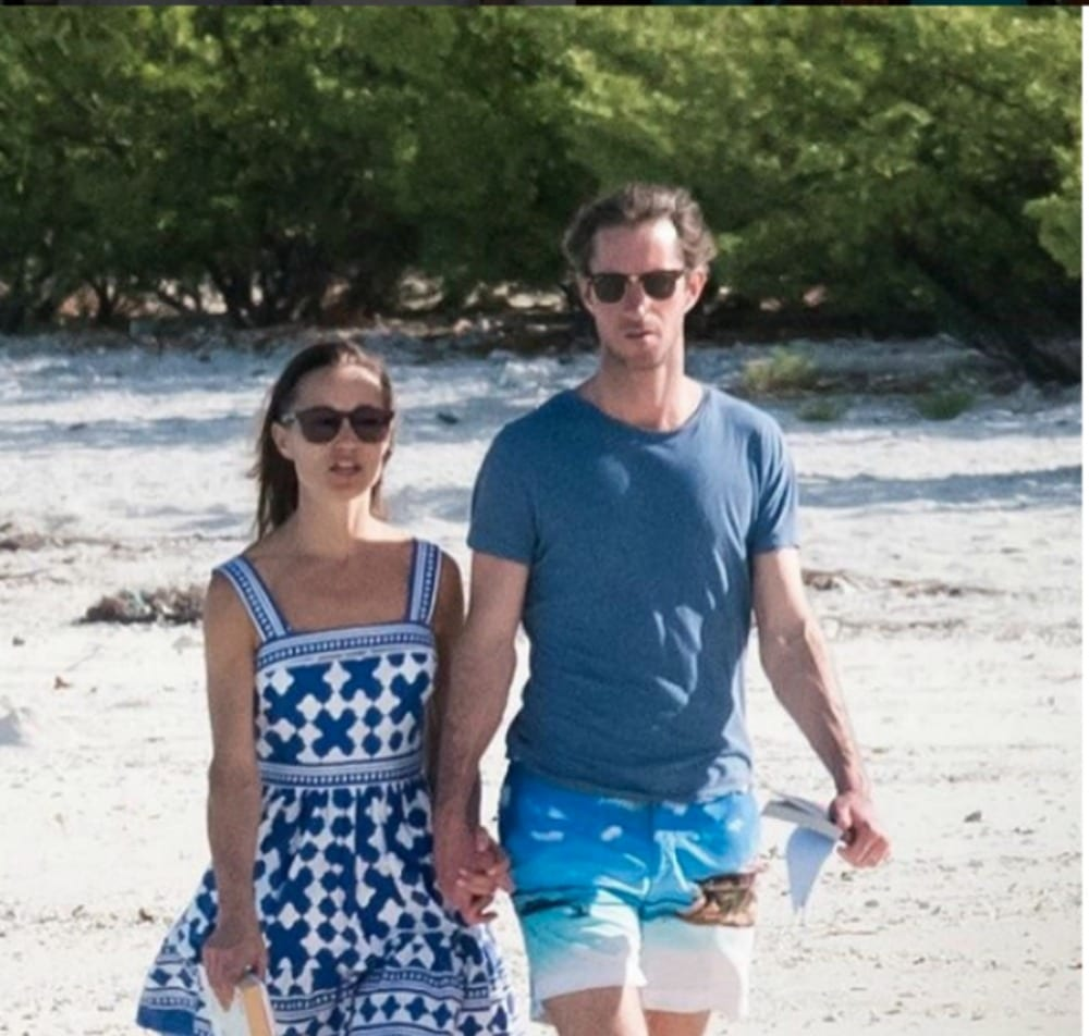Pippa Middleton in Polinesia