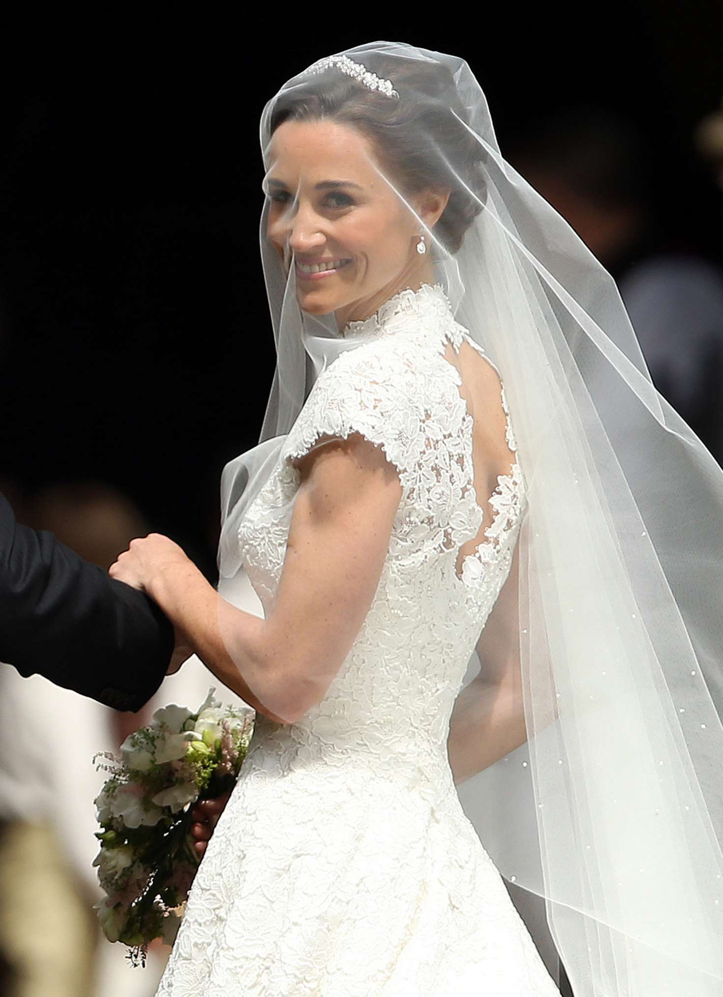 Pippa Middleton e il suo Bride Dress incantato