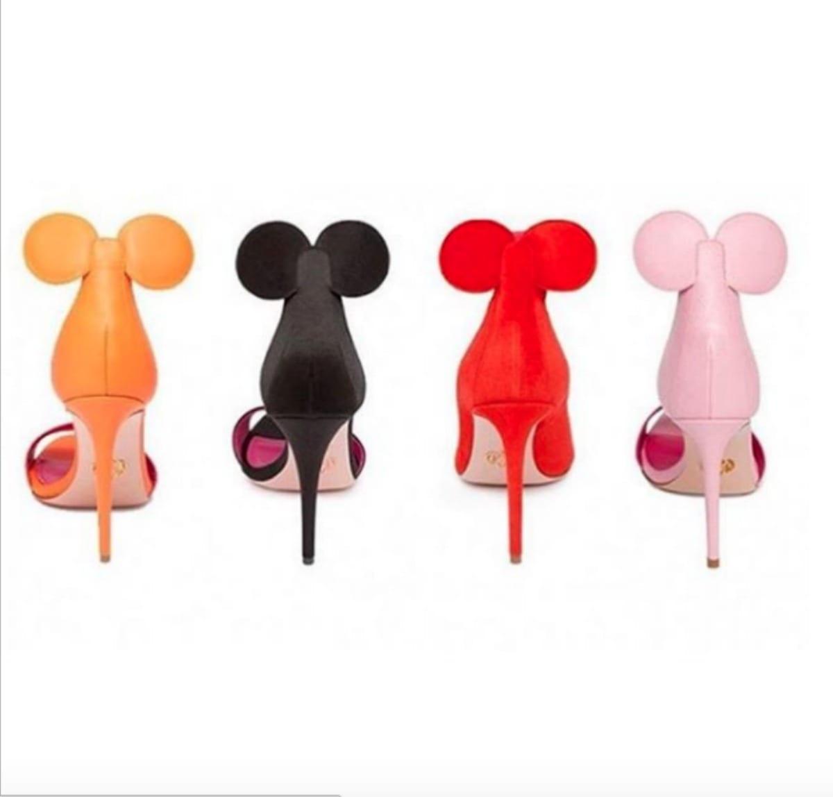 Disney, le scarpe Minnie di Oscar Tiye