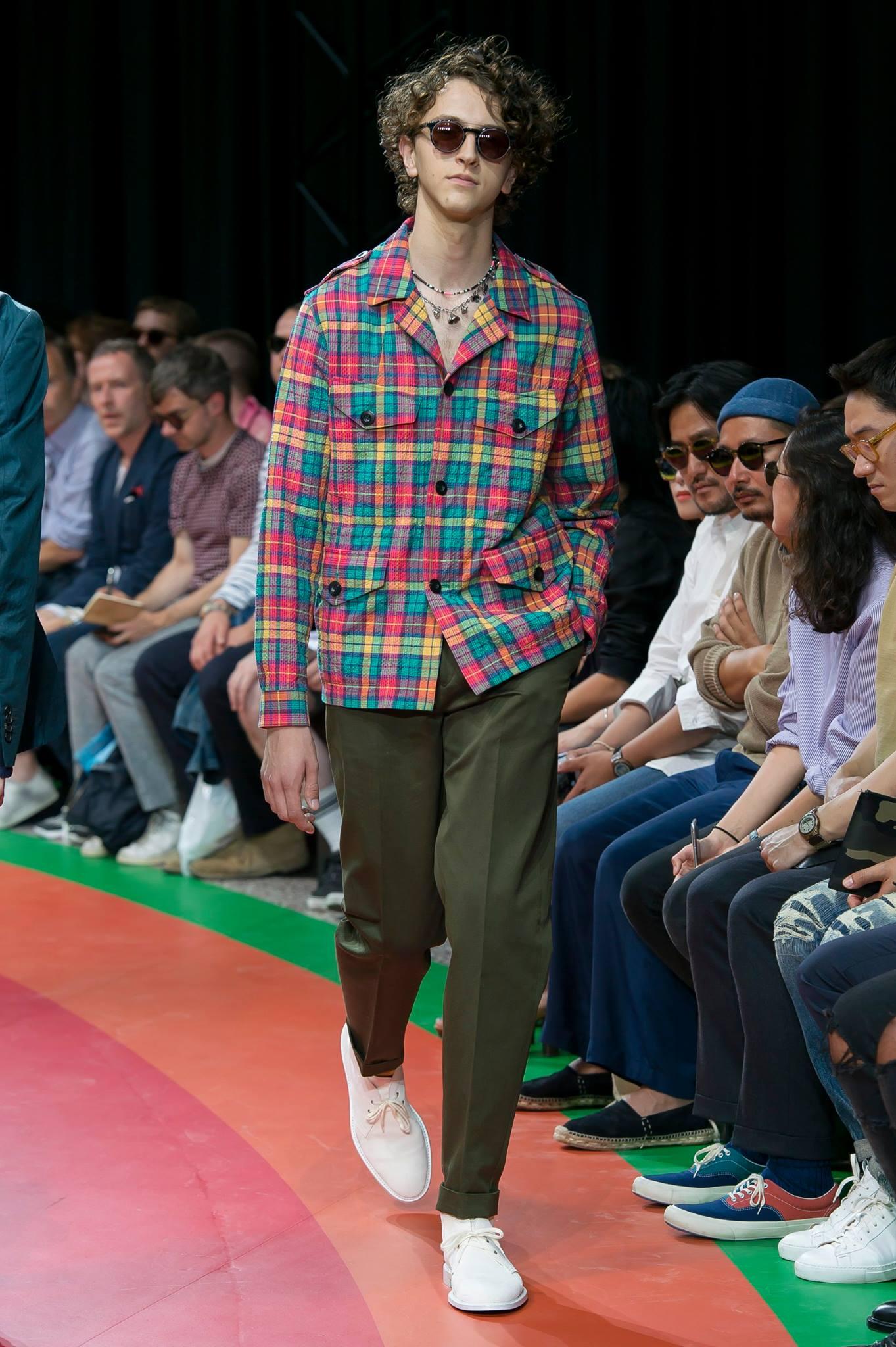 Paul Smith: collezione uomo primavera-estate 2017