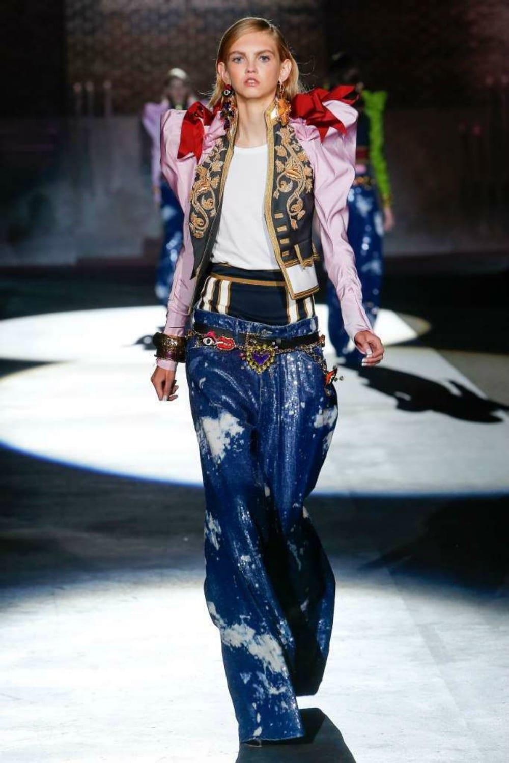 Jeans uomo donna Dsquared2: collezione primavera-estate 2017
