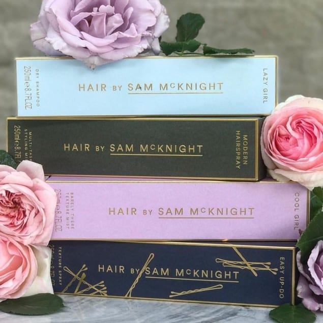 Sam McKnight, l'hair style delle Star ha creato la sua linea di prodotti per capelli