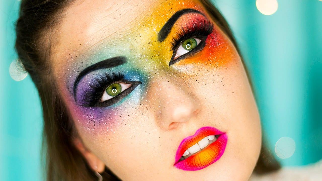 Rainbow make up tendenza trucco 2017 velvetmag - Tendance make up 2017 ...