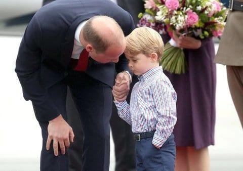Il principe William e Kate in Polonia con George e Charlotte [FOTO]