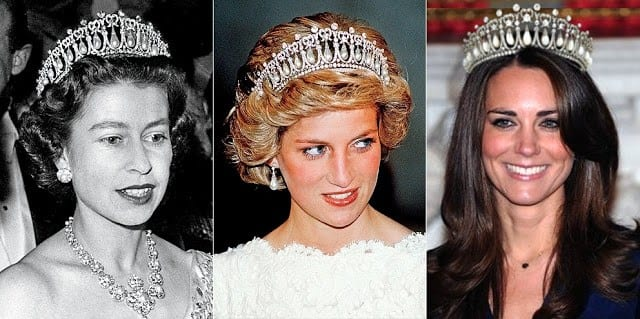 Kate Middleton indossa la tiara preferita di Lady Diana [FOTO]