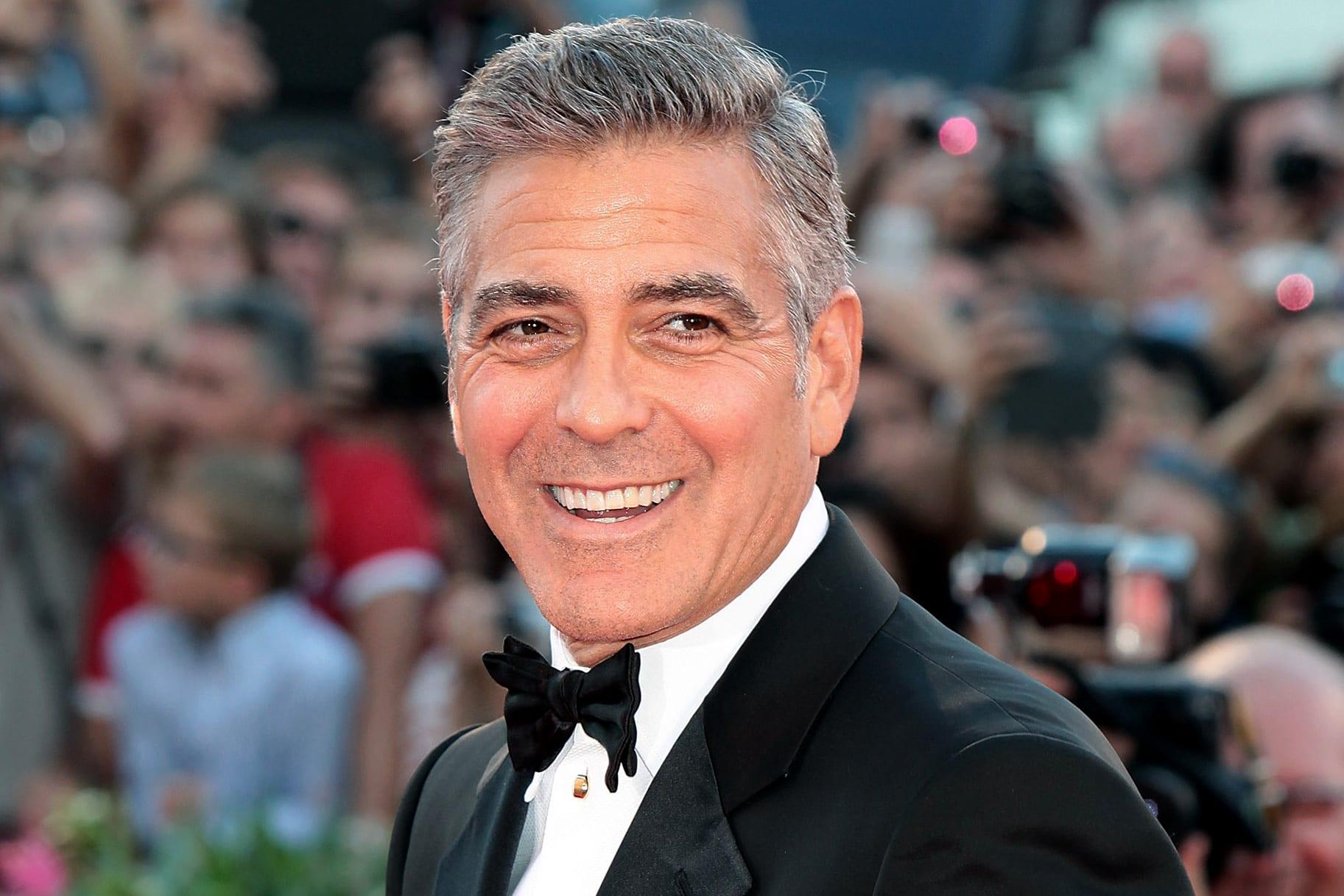 George Clooney è l'uomo più bello del mondo video - VelvetMag