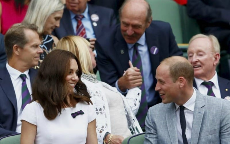 Wimbledon 2017, Kate Middleton bacia Roger Federer [VIDEO]