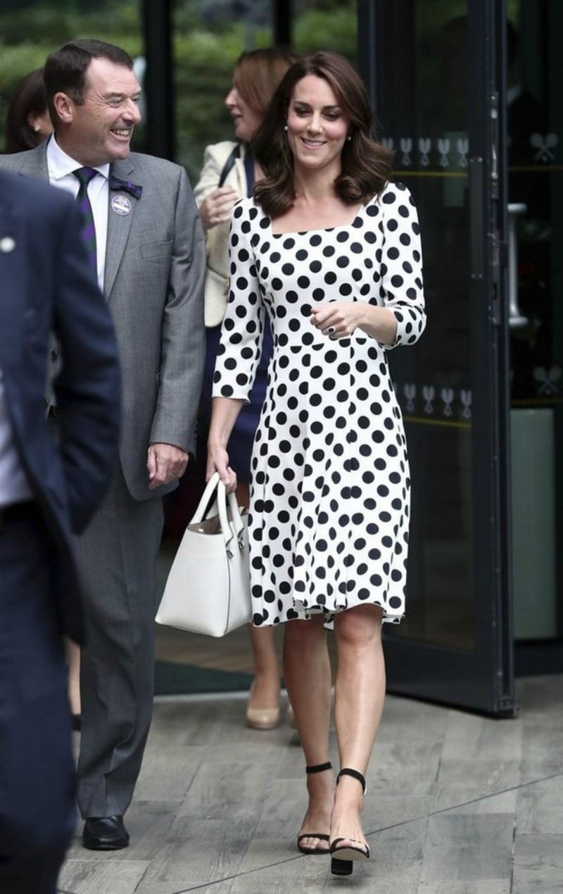 Kate Middleton madrina di Wimbledon con un look italiano [FOTO]