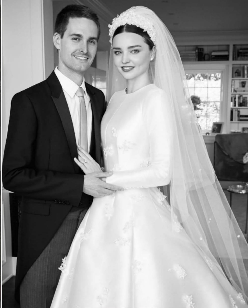 Miranda Kerr, il matrimonio segreto con Evan Spiegel [VIDEO]