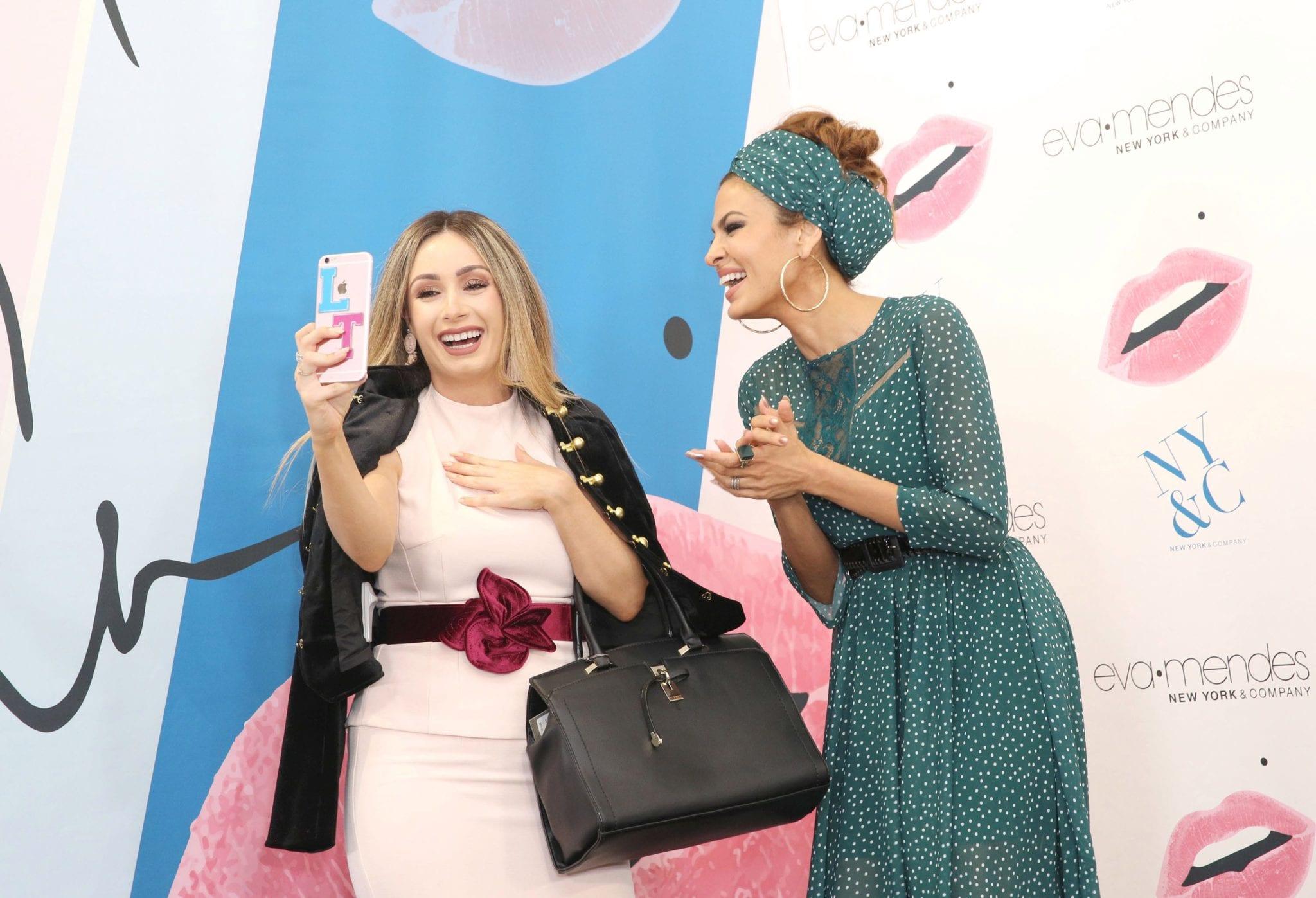 Eva Mendes, la collezione moda dedicata a tutte le donne curvy