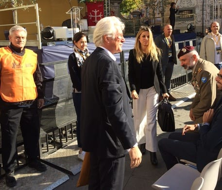 Richard Gere in Toscana per incontrare il Dalai Lama [VIDEO]