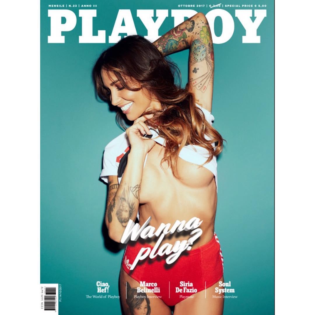 L'ex gieffina Siria De Fazio posa nuda per Playboy