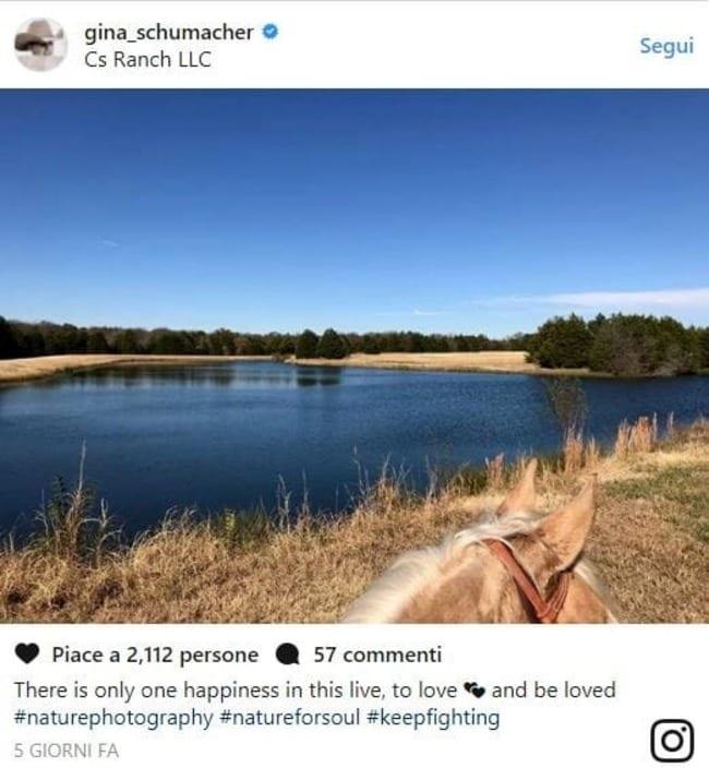 Schumacher, la figlia rompe il silenzio: commovente post su Instagram