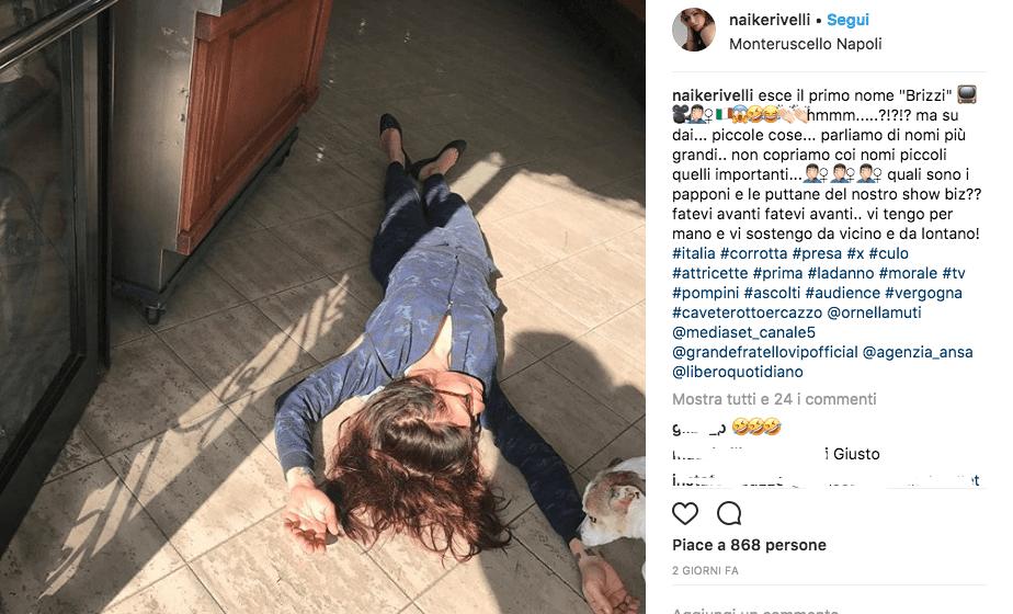 """Naike Rivelli contro lo showbiz italiano: """"Brizzi? Non copriamo coi nomi piccoli quelli importanti"""" [FOTO]"""