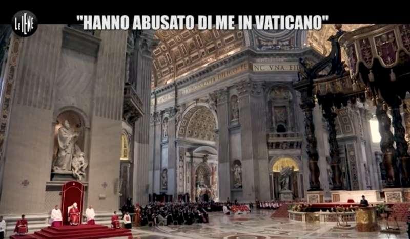 Le Iene Show prosegue l'inchiesta su presunti abusi sessuali in Vaticano e la Santa Sede apre un'indagine [VIDEO]