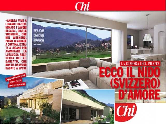 Belen e Iannone, la nuova villa in Svizzera: ecco le foto