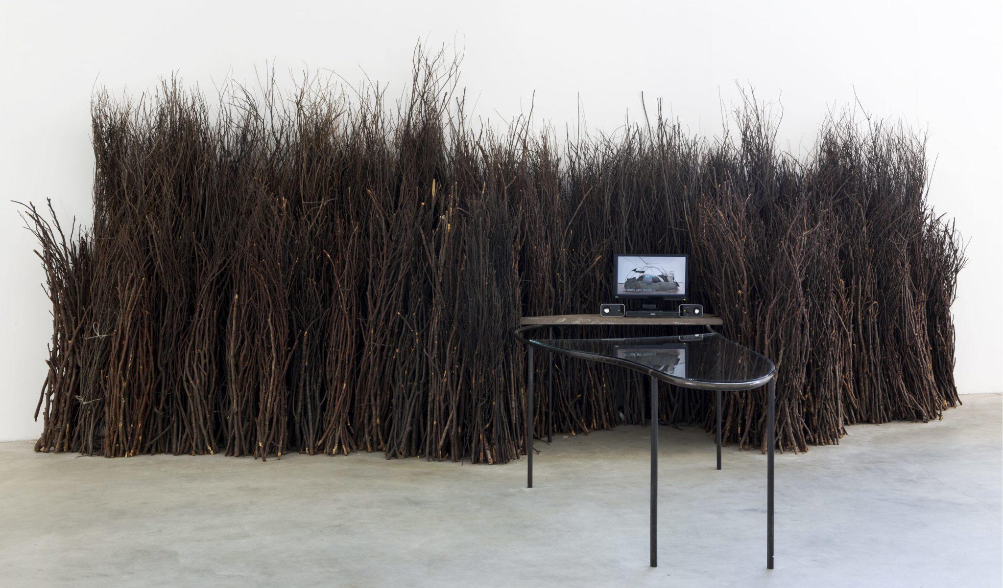 """""""La Natura e' l'equilibrio"""", Fondazione Mario Merz, Torino, 2016"""
