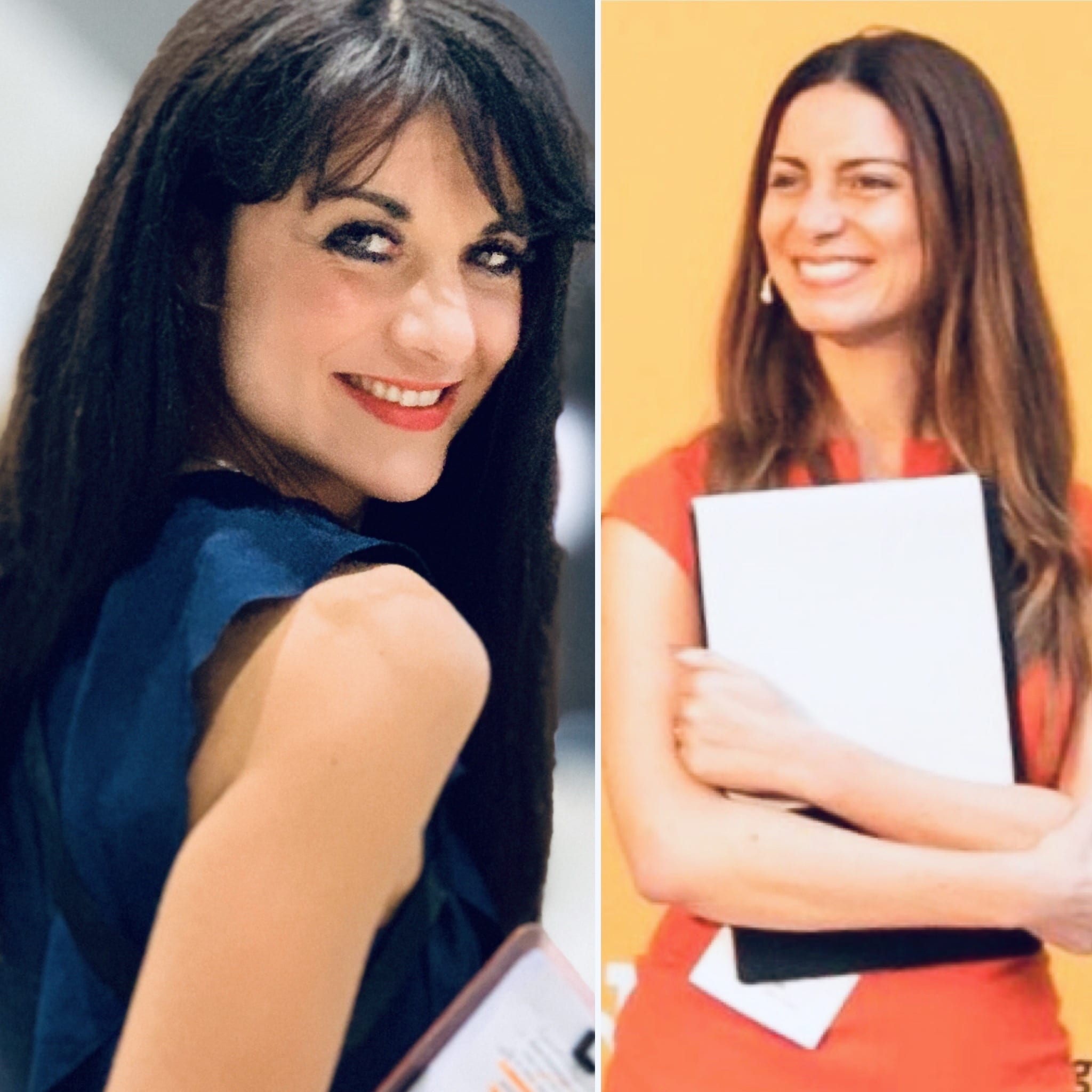 Sara De Bellis direttrice di MangiaeBevi e Chiara Giannotti di Vino.tv.
