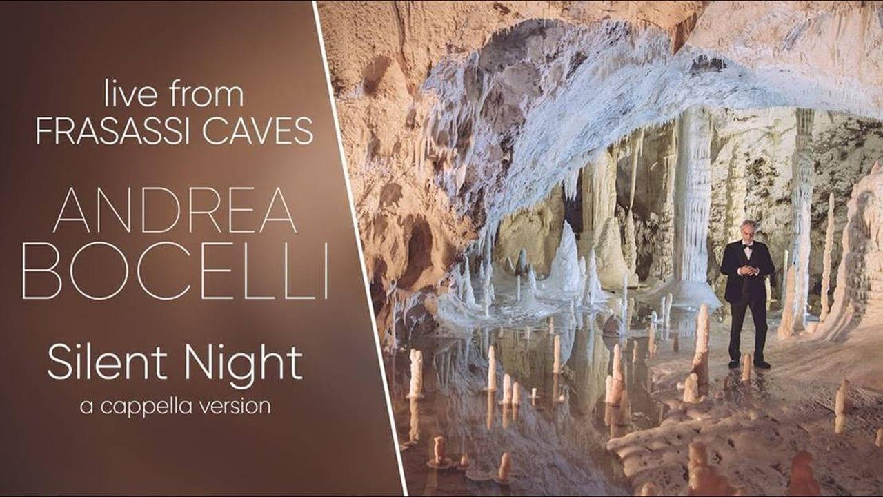 Andrea Bocelli concerto canale 5 Silent Night