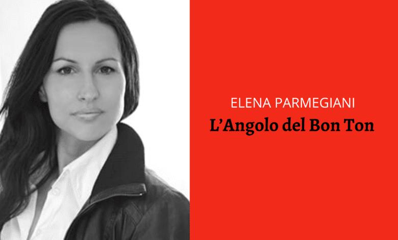 Elena Parmegiani L'Angolo del Bon ton