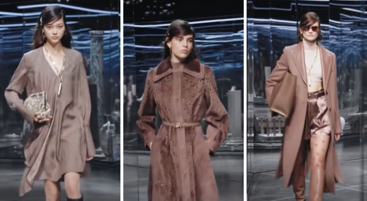 Milano Fashion Week 2021, Fendi porta in passerella l'eleganza delle donne