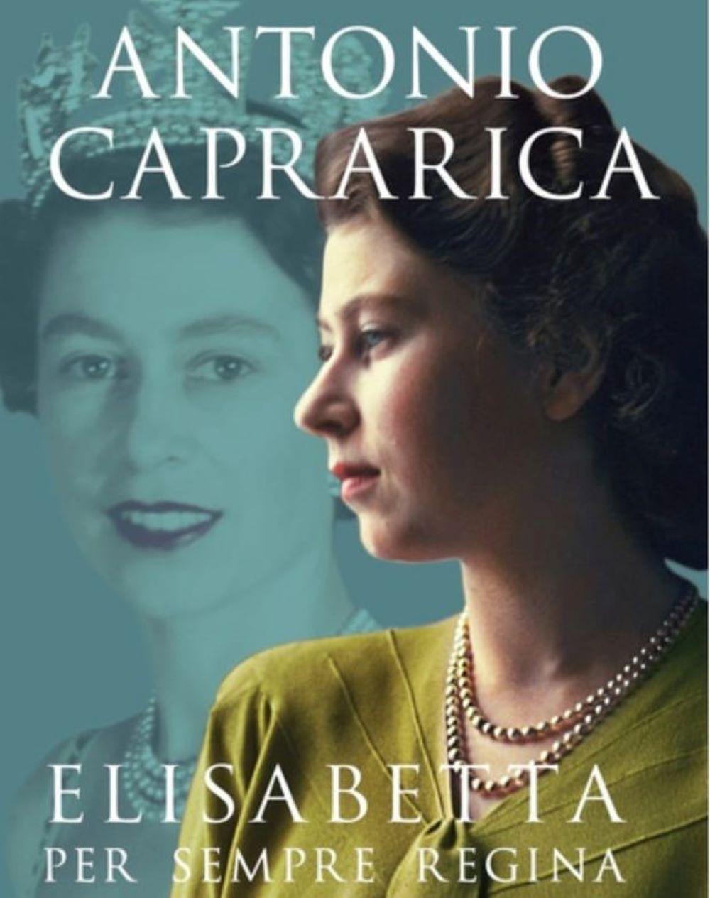 Libro Caprarica regina Elisabetta