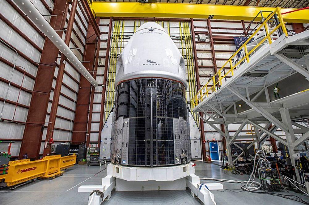 Turisti Spazio equipaggio Inspiration Space X