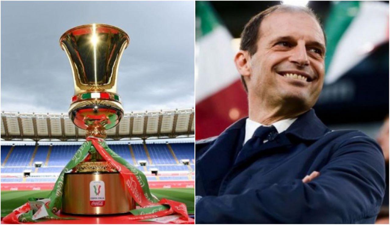 Coppa Italia finale Allegri Real Madrid
