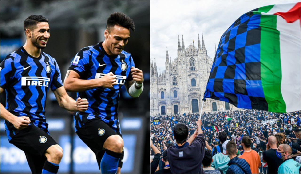 Inter festa scudetto polemiche