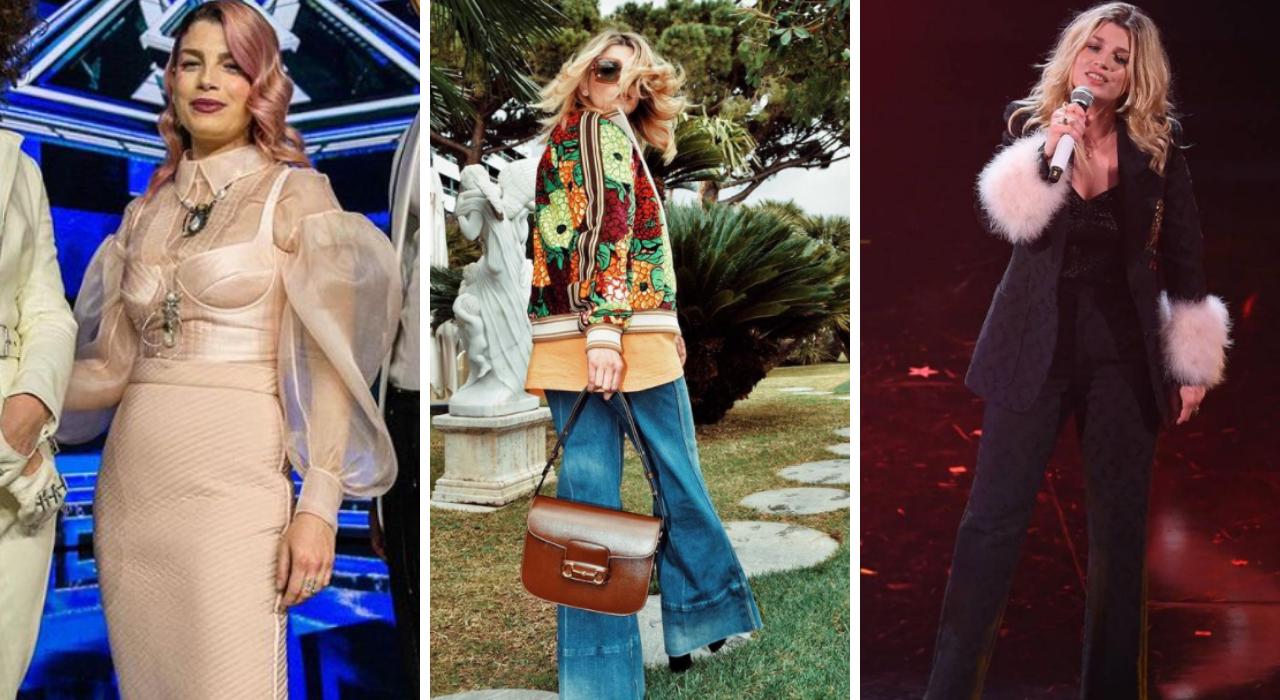 Dal palco di Sanremo a X Factor: i look più belli di Emma