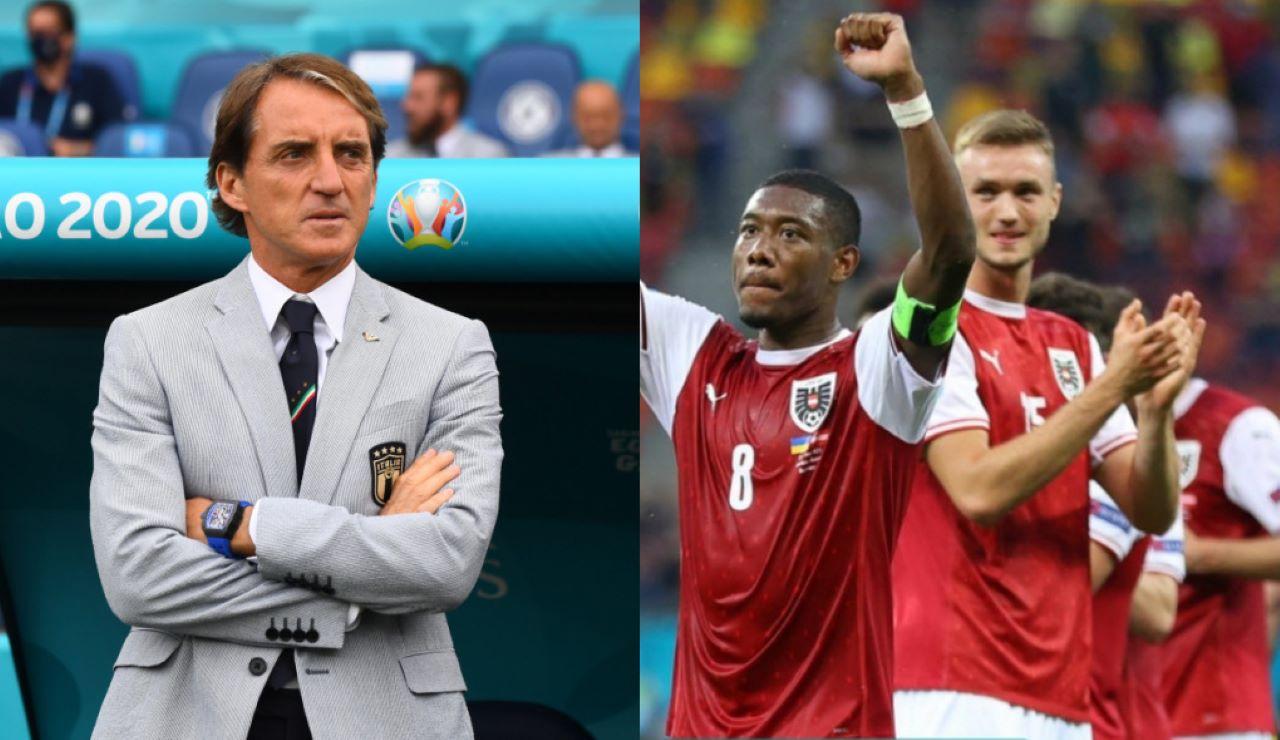 Euro 2020 ottavi Austria avversario Italia