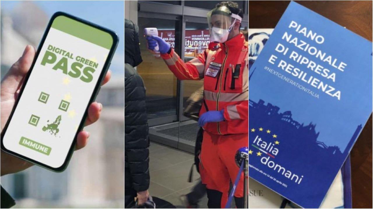 Green pass europeo viaggi Recovery riforme