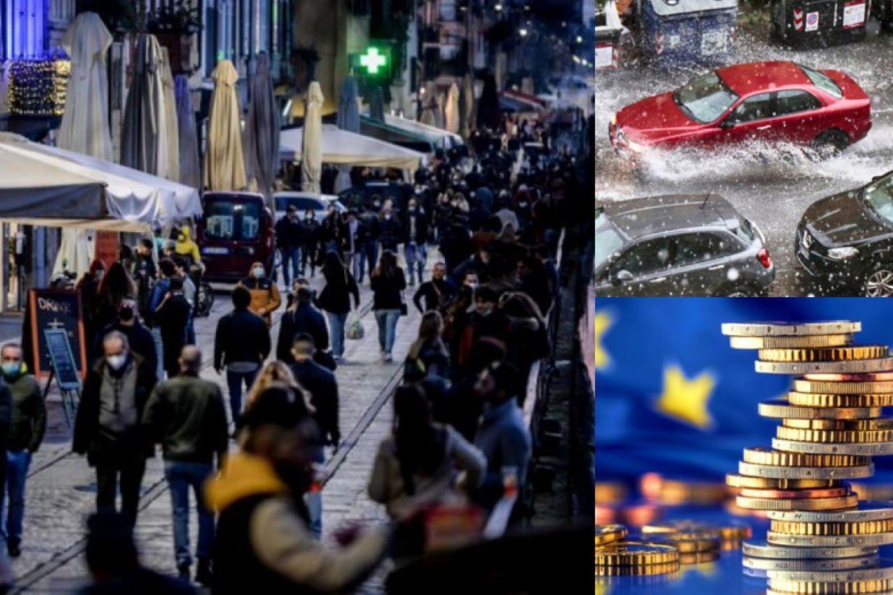 Italia zona bianca 40 milioni Recovery fondi strade