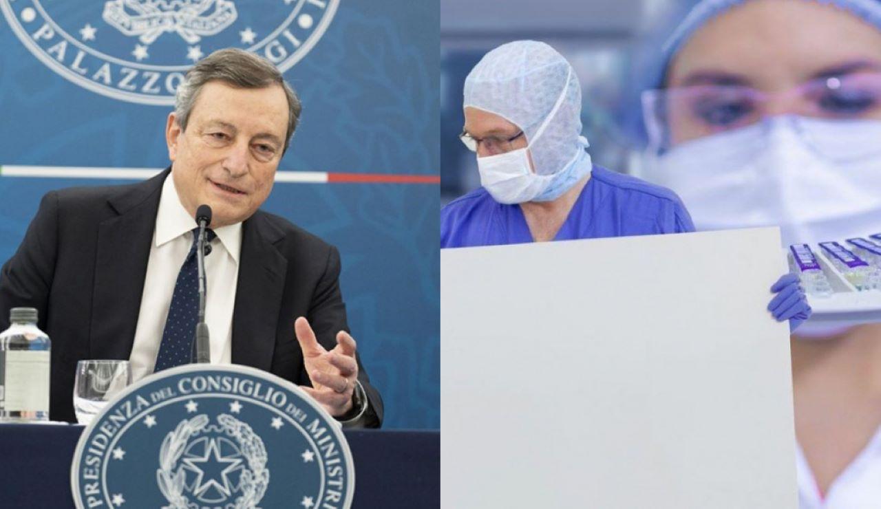 Vaccini Covid Draghi AstraZeneca