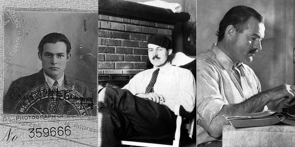 Hemingway da giovane