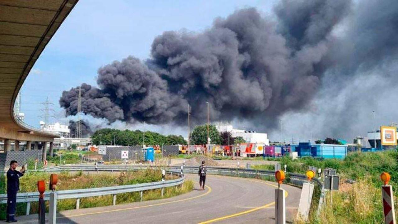Esplosione Germania Leverkusen