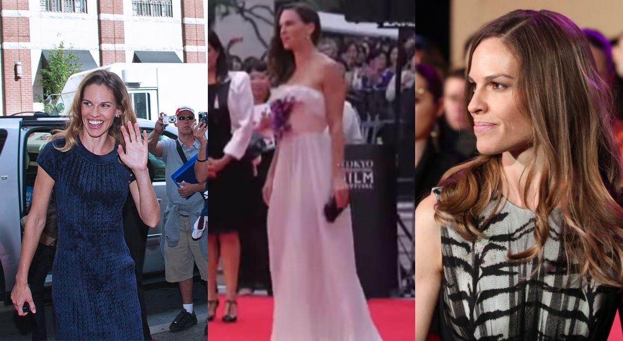 Buon compleanno Hilary Swank: i look più belli dell'attrice