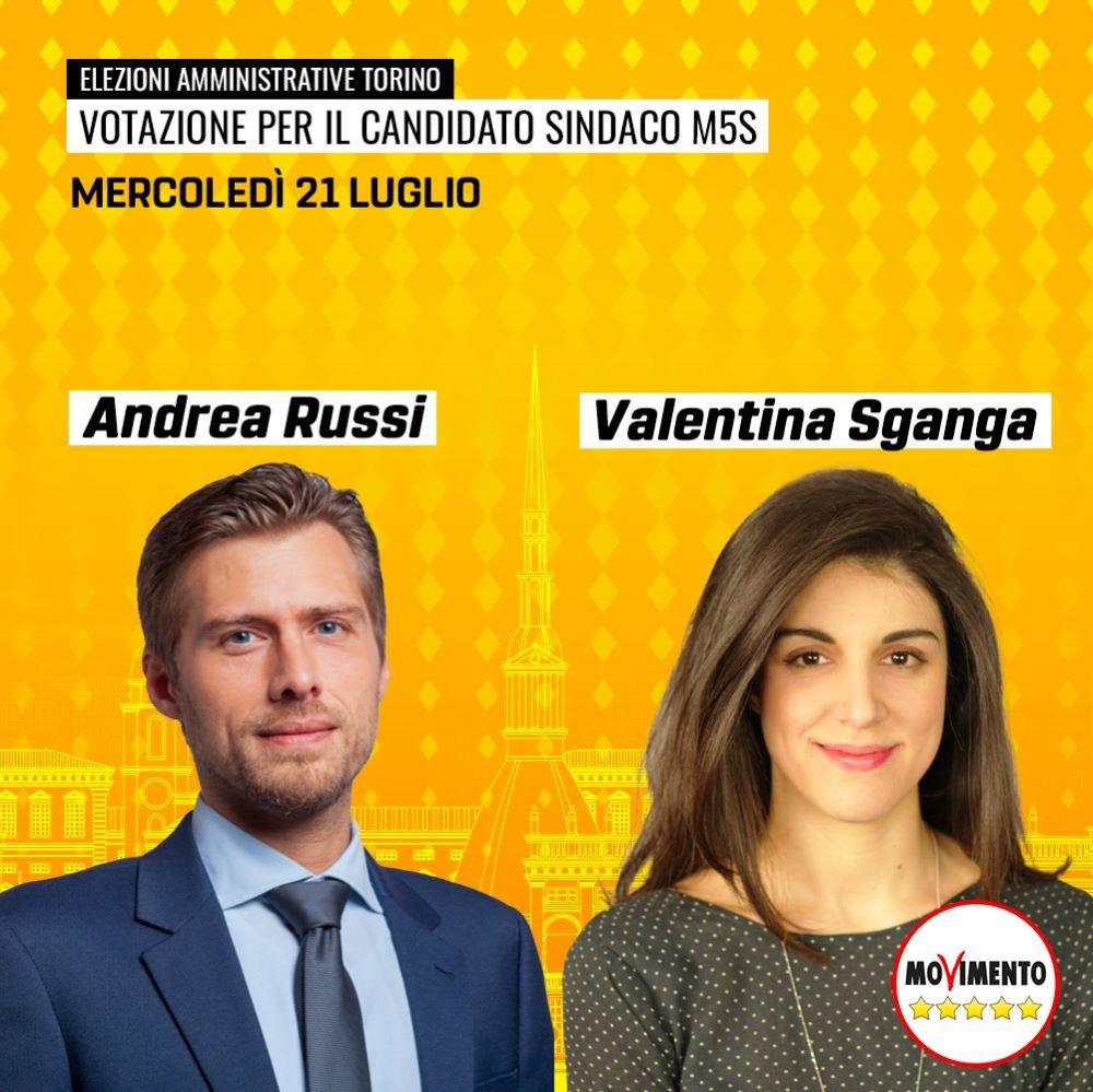 M5S Torino SkyVote comunali candidati