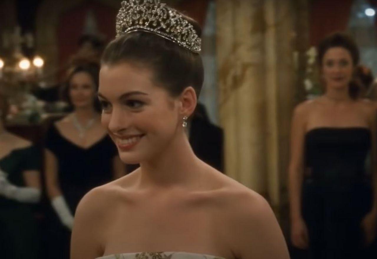 Pretty Princess Anne Hathaway
