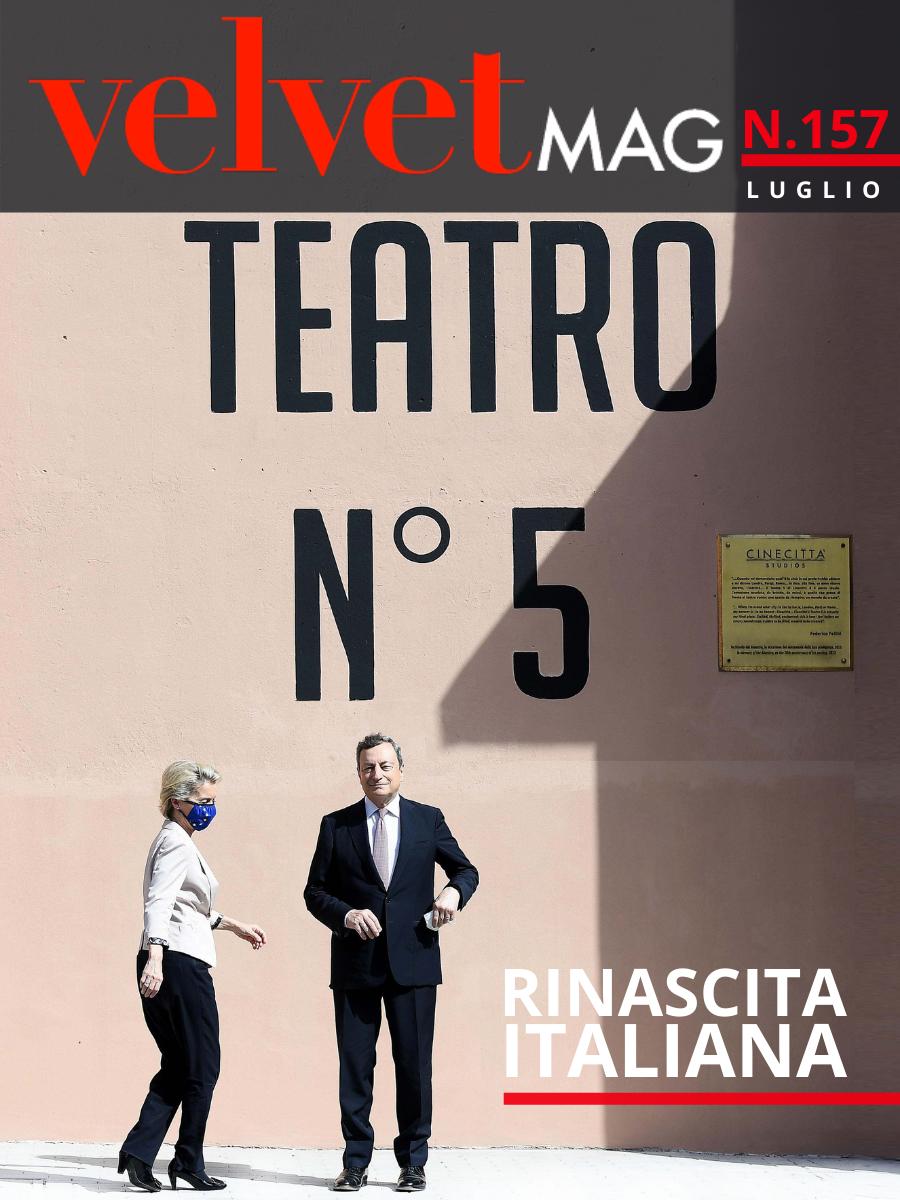 copertina luglio Editoriale del Direttore Angela Oliva