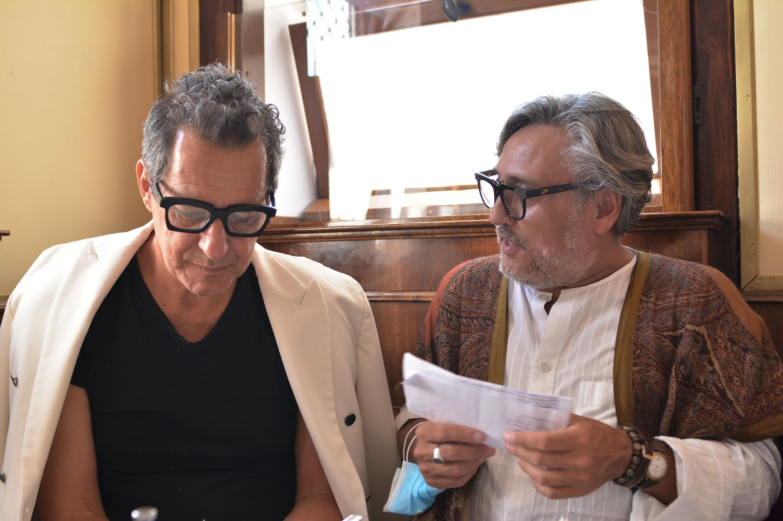 """Stefano Guindani ad """"Interviste in doppio petto"""""""